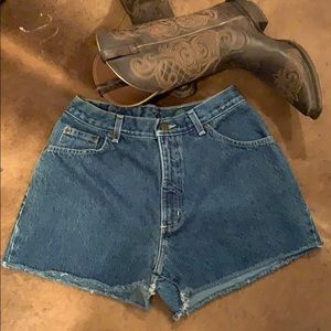 Hunt Club Vintage High Waist Jean Shorts